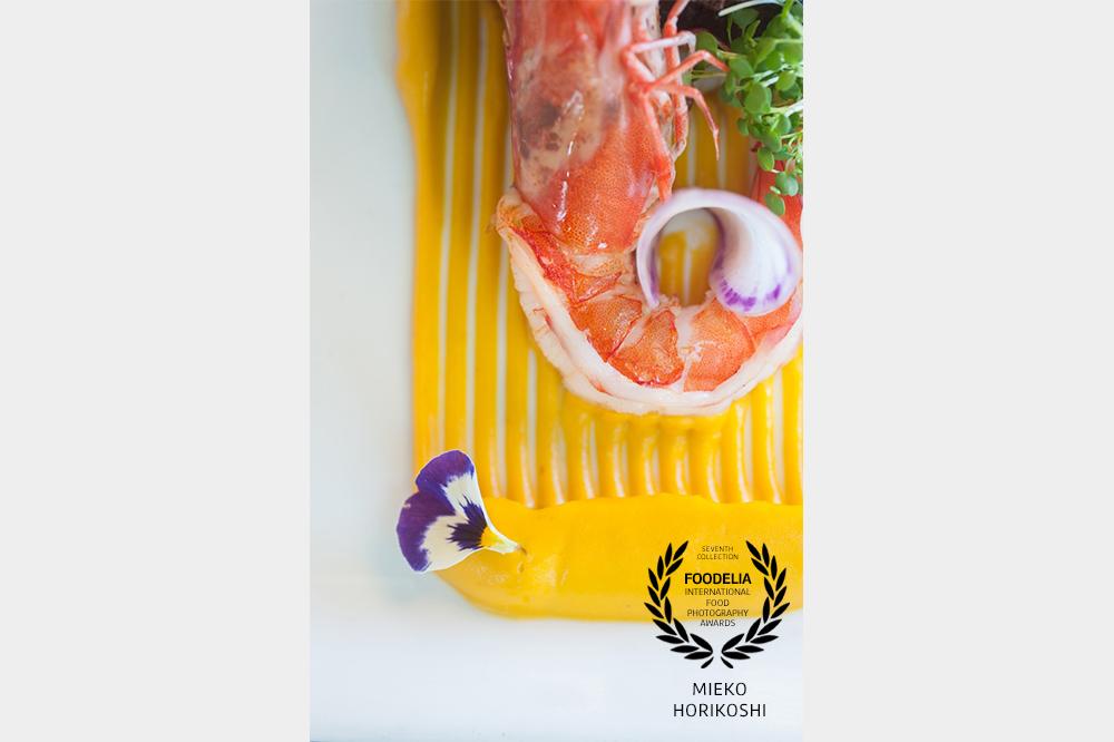 Shrimp, Mustard, Edible flower, Radish, Micro