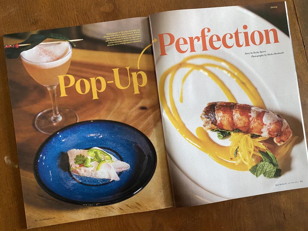 Maui Food Photographer Portfolio